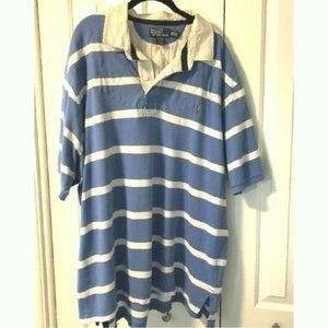 Polo Ralph Lauren Men's Stripe Shirt Quilted Chest